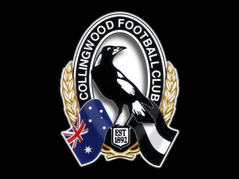 "My football team...""Collingwood, The Mighty Magpies"""