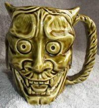 Vintage Halloween Devil Mug