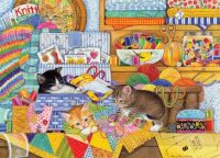 """Crafty Kittens""-Amy Rosenberg"