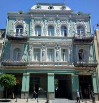 Victorian building in Russia