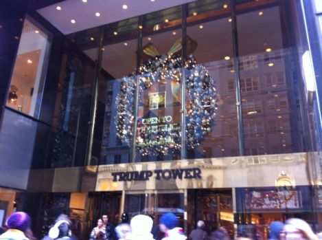Trump Tower in New York City!