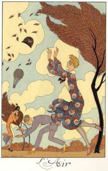 Georges Barbier - Le Air, 1925