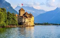 Chillon Castle, Vaud, Switzerland