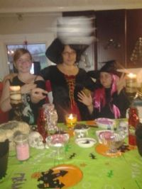 My Three Little Witches and their brew