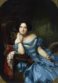 Federico de Madrazo Amalia de Llano y Dotres, Countess of Vilches 1853