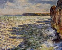 Claude Monet - Waves and Rocks at Pourville, 1882  (Mar17P84)