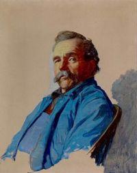 Portrait of Andrew Newell Wyeth, 1923, N. C. Wyeth (1882-1945)