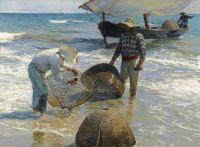 Joaquín Sorolla, Fishermen from Valencia, 1895,