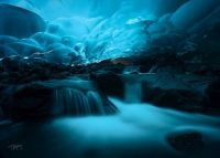 Mendenhall Ice Caves, / Majestic Earth theme