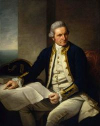 Captain  James Cook portrait by Sir Nathaniel Dance-Holland, c.1775,