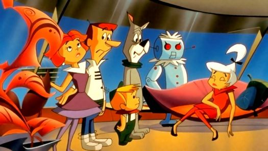 Jetson's family and maid