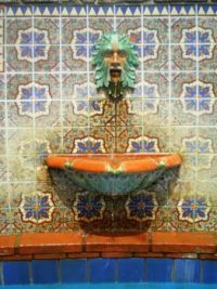Neptune Fountain @ Adamson House, Malibu