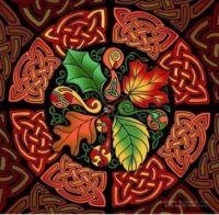 celtic autumn art