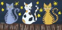 folk-art-cats