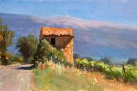Provence, a painting a day