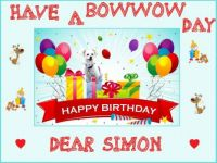 Happy Birthday dear Simon (Tekchal's dog)