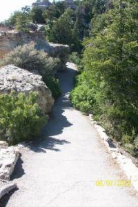 Bright Angle Point trail North Rim, Grand Canyon