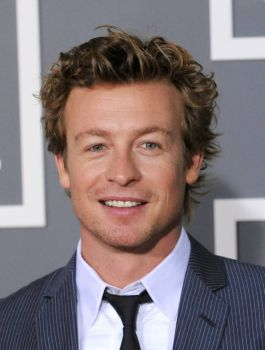 Simon Baker of the Mentalist