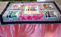 Race for the Cure Blanket