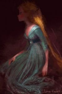 Rapunzel Development Art