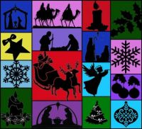 Christmas Silhouettes: Small