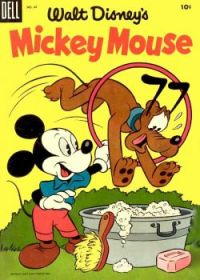 Walt Disney's MICKEY MOUSE - DELL COMIC - 1959