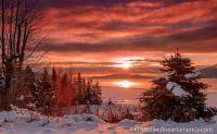 December Morning, Lake Pend Orielle