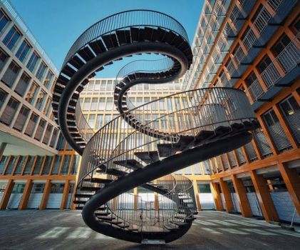 Endless Stairs in Germany