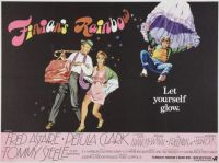 FINIAN'S RAINBOW - 1968 UK POSTER - FRED ASTAIRE, PETULA CLARK & TOMMY STEELE