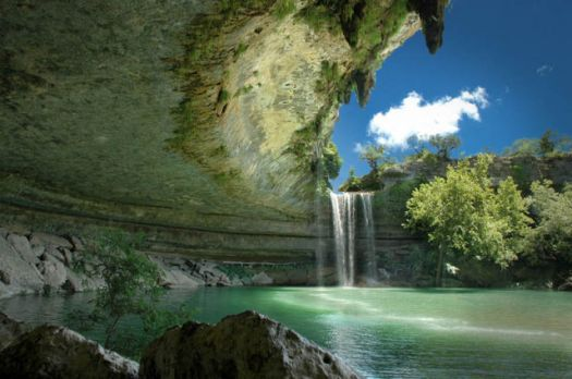 The Hamilton Pool Nature Preserve