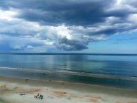 Rain clouds, Daytona, Fl