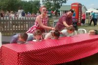 Brogdale Cherry Pie eating  (Childrens contest)