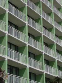 Ocean front balconies