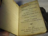 Pocket Dictionary, c.1873