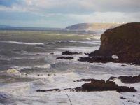 A spot of turbulence at Widemouth - Cornwall - December