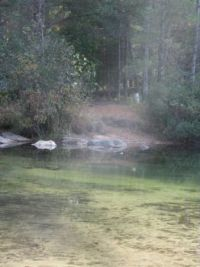 Ghostly images at Cut river Sept 2013 150