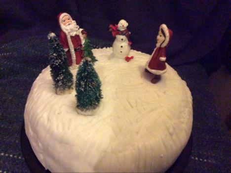 My Christmas cake 2020