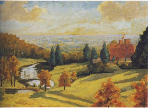 View of Chartwell by Winston Churchill