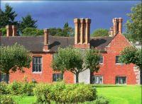 Stormy Skies. Baddesley Clinton. Warwickshire.