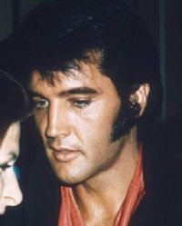 Sideburns and somebody called Elvis
