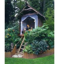 GARDEN IDEAS...BUILD AN OPEN TREE HOUSE...