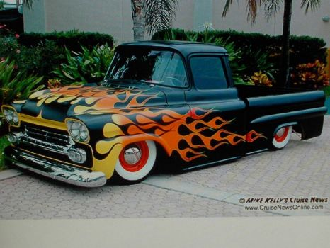 57 chevy truck!!(spunky & the bandit).