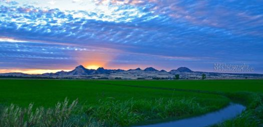 Sutter Buttes Sunset by MZ Photography