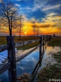 Minnesota sunset by David Paul Jr