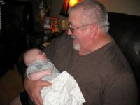 Our Grandson John Paul and PapPaw