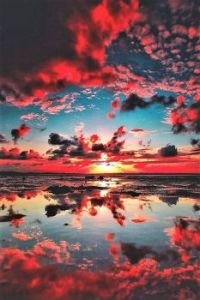 Just another sunset reflection