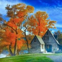 Old House in the Autumn...