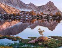 Upper Young Lake sunrise, Yosemite National Park, California