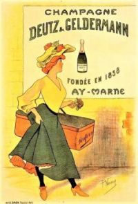 Themes Vintage ads - Champagne Deutz & Geldermann Circa 1900