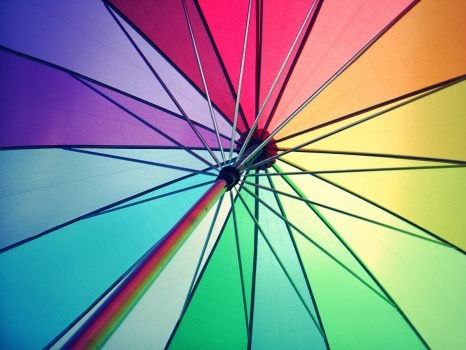 Colorful-Umbrella-by-rainbow-world
